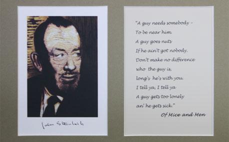 John Steinbeck Matted