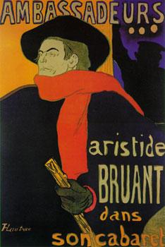 Ambassadeurs by Toulouse-Lautrec