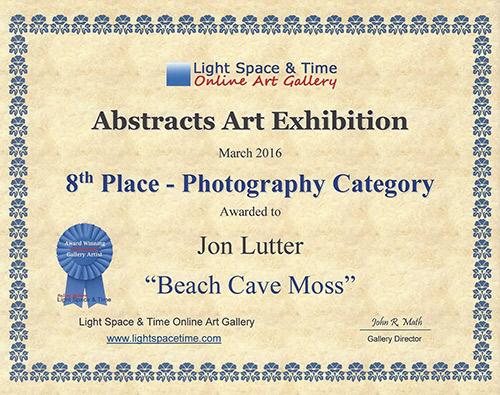 Beach Cave Moss Award